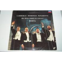 Laserdisk Importado The 3 Tenors In Concert 199o Carreras