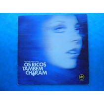 Lp Trilha Sonora Novela P/1982-os Ricos Também Choram-nacion