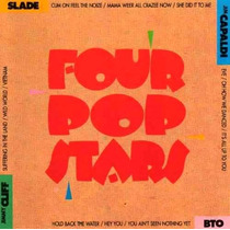 Cd Four Pop Stars Slade Bto Jimmy Cliff Jim Capaldi Rock