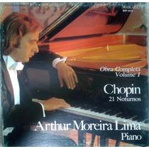 Box Set 03 Lps Arthur Moreira Lima - Chopin - Completa Vol 1