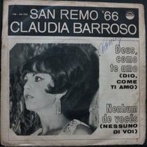 Claudia Barroso - San Remo `66 - Deus Compacto Vinil Raro