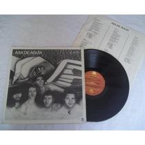 Lp-asa De Aguia-1988 Com Encarte Em Otimo Estado