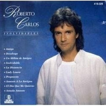 Lp-roberto Carlos-inolvidables-com Encarte Em Otimo Estado