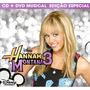 Kit Dvd + Cd Hannah Montana 3 Miley Cyrus * Lacrado Raridade