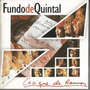Cd Original Fundo De Quintal - Cacique De Ramos