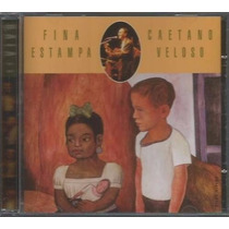 Cd /caetano Veloso - Fina Estampa Ao Vivo