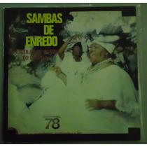 Sambas De Enredo Grupo 1 Carnaval 78 Capa Dupla Lp Vinil