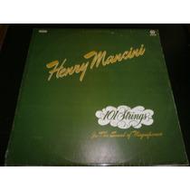 Lp Henry Mancini - 101 Strings, Disco Vinil, Ano 1985