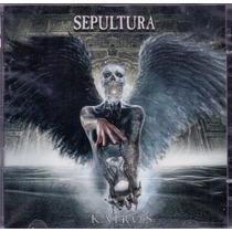 Cd + Dvd Sepultura - Kairos - Novo***