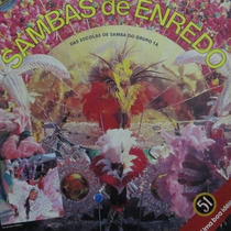 Lp Sambas De Enredo Escolas Grupo 1a - 88 - Sp Vinil Raro