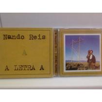 Cd Nando Reis @ A Letra A (com Luva) Frete Grátis