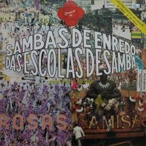 Lp Sambas De Enredo Escolas De Samba 91 Vinil Raro
