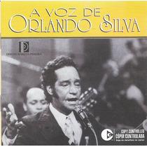 Cd A Voz De Orlando Silva - Duplo