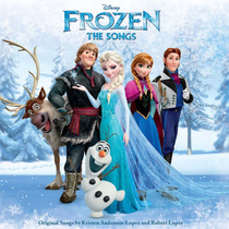 Cd Frozen: The Songs = Trilha Sonora [import] Novo Lacrado