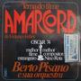 Berto Pisano - Amarcord De Federico Fel Compacto Vinil Raro