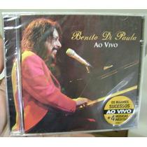 Cd Benito Di Paula / Ao Vivo / Lacrado Frete Gratis