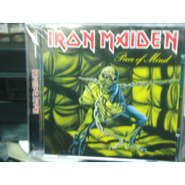 Iron Maiden-piece Of Mind- Novo-original-lacrado De Fábrica!