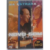 Dvd + Cd Novo Som Na Estrada Ao Vivo Em Manaus Novo Lacrado