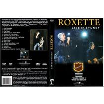 Dvd Roxette - Live In Sydney Novo Lacrado Frete Livre