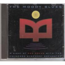 Cd The Moody Blues - A Night At Red Rocks ( Importado Usa