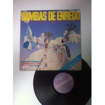Lp Vinil Sambas De Enredo Carnaval 86