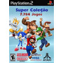 Dvds Jogos De Super Nintendo, Mega, Nes, Atari Para Play2 Pc