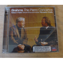 Cd Nelson Freire - Brahms The Piano Concertos - Duplo