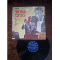 Lp Vinil Earl Grant Songs Famous Made Nat Cole