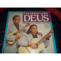 Lp Vinil Gospel Malaquias Do Cavaquinho E Ana Lúcia Encontro