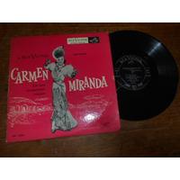 Vinil Carmen Miranda Em Suas Inesqueciveis Criações Lp 10