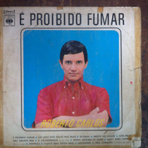 Lp Vinil Roberto Carlos E Proibido Fumar