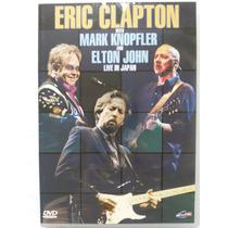 Dvd Eric Clapton Mark Knopfler Elton John Live In Japan