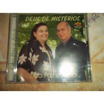 Cd Duo Paz E Amor Deus De Mistérios Gospel Evangélico