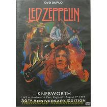 Led Zeppelin Dvd Duplo Knebworth