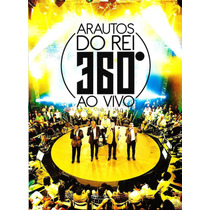 Dvd + Cd Arautos Do Rei - 360º Graus.