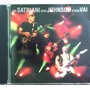 Cd Joe Satriani Eric Johnson Steve Vai - G3 Live In Concert