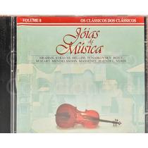 Cd - Caras Jóias Da Música - Volume 8 - Como Novo