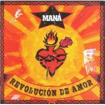 Cd Maná Revolucion De Amor