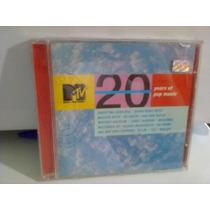 Cd Mtv @ 20 Years Of Pop Music - 2001 - (frete Grátis)