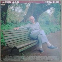 Lp Mário Lago Nada Além 1991 Exx Com Encarte