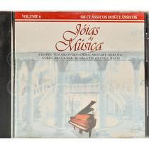 Cd - Caras Jóias Da Música - Volume 6 - Como Novo