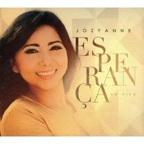 Cd + Playback Jozyanne - Esperança * Original