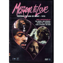 Dvd-message To Love:fest.1970-the Doors,jimi Hendrix,the Who