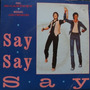 Paul Mccartney & Michael Jackson - Say S Compacto Vinil Raro