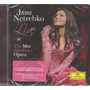 Cd Live At The Metropolitan Opera-anna Netrebko -*lacrado*