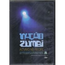 Nação Zumbi - Ao Vivo No Recife - Dvd Novo