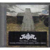 Justice - Áudio, Vídeo, Disco - Cd Usado