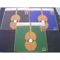 Lps(3) 3º Festival Da Mpb -vol 1/2/3 -1967 -mono -só 75 Tudo
