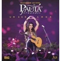 Blu-ray Paula Fernandes Ao Vivo Multshow*lacrado*