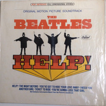The Beatles Lp Help Original Motion Picture Soundtrack